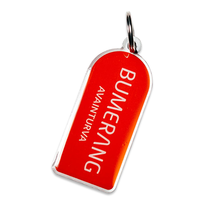 Bumerang turva-avaimenperä, punainen