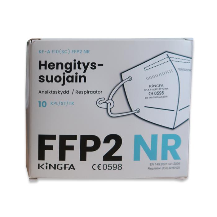 Kingfa-hengityssuojain FFP2 ilman venttiiliä