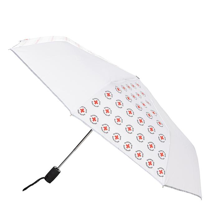 Heijastava sateenvarjo on reilunkokoinen.