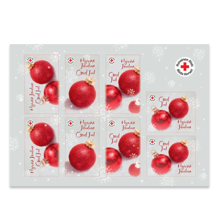 Tarra-arkki Punaiset pallot