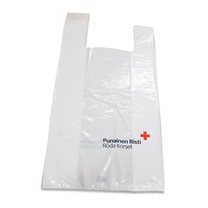 Punainen Risti -muovikassi