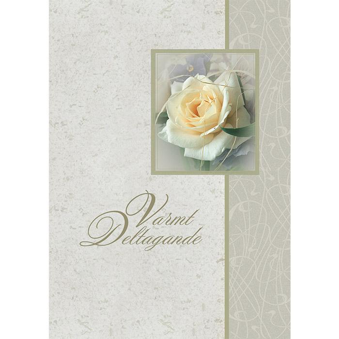 Osanottoadressi Valkoinen ruusu RUOTSI