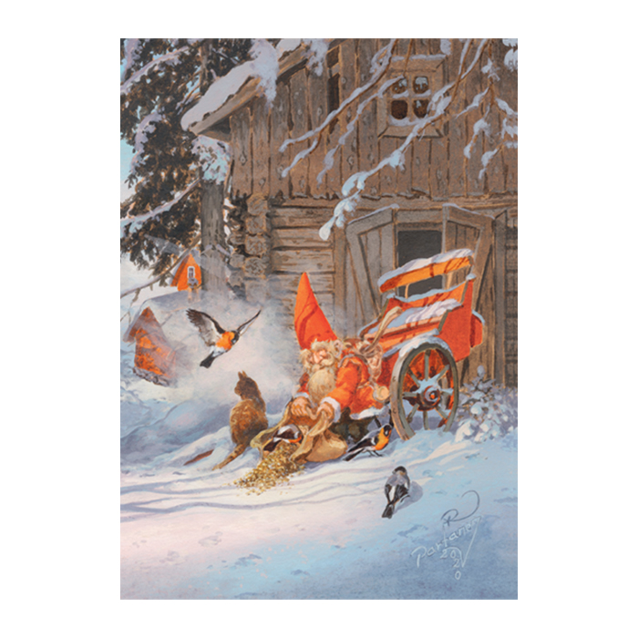 Joulukalenteri Raimo Partanen