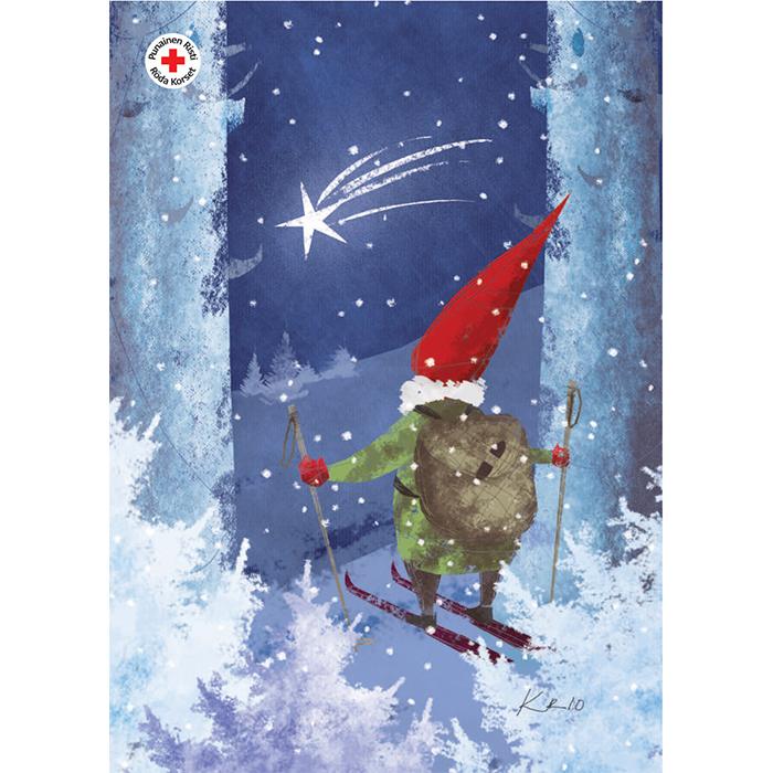 Joulupostikortti 12