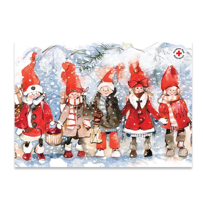 Joulupostikortti 5