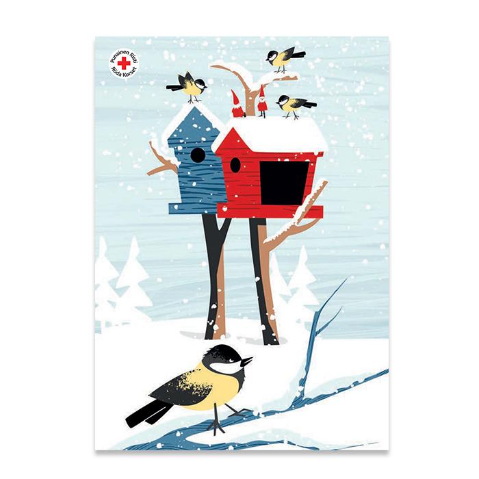 Joulupostikortti 9