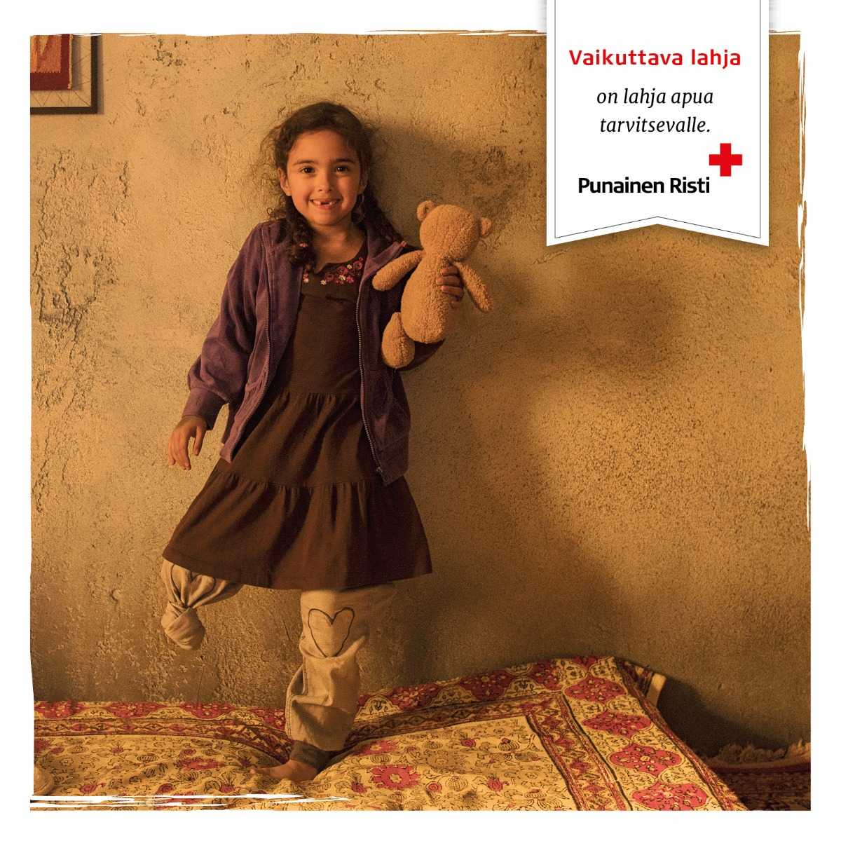 Proteesi Syyrian sodassa vammautuneelle, 50 €/kpl