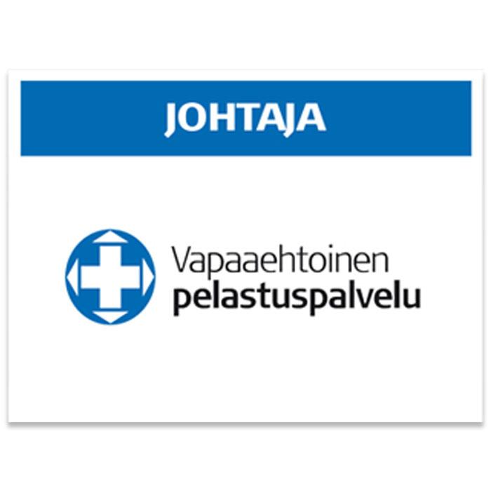 Vapepa-selkämerkki JOHTAJA