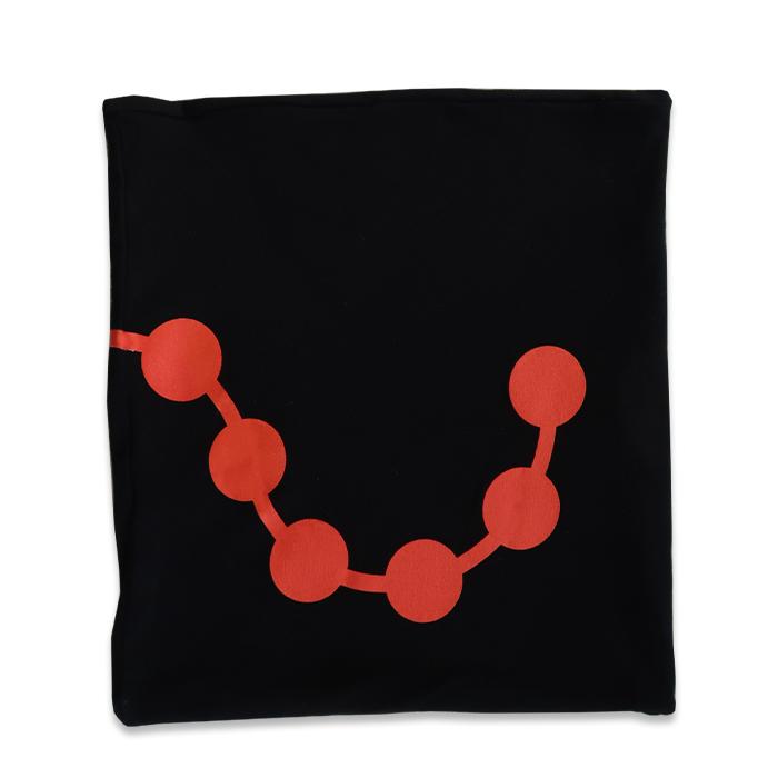 Tubhalsduk med Hjälpens kedja -mönster