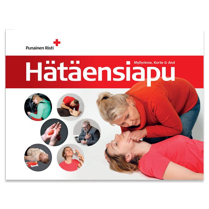 Bok om livräddande första hjälpen, svenska/finska