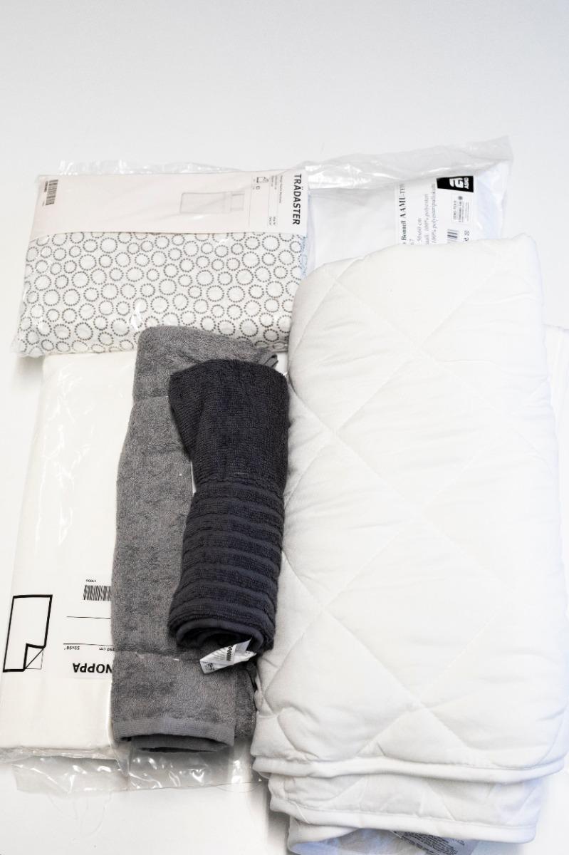 Sängkläder set för en person