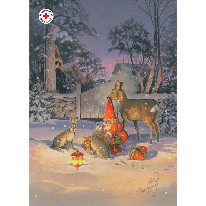 Julpostkort 16