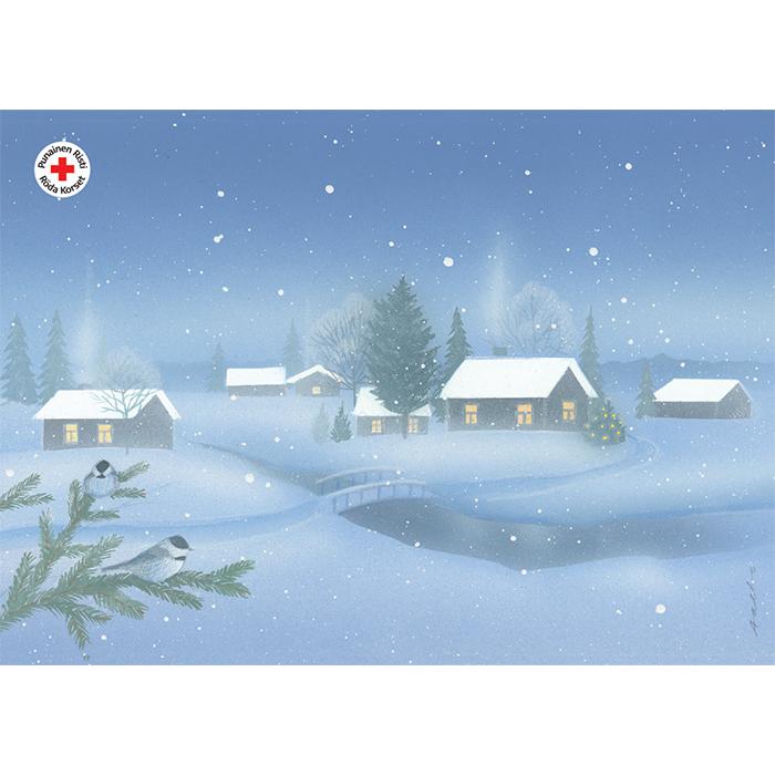 Julpostkort 17