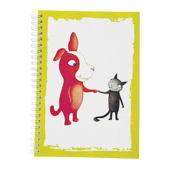 Reddie & Crossie anteckningsbok