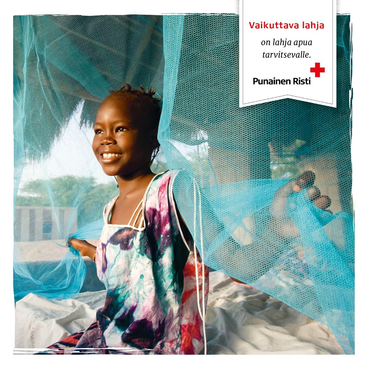 Malariaskydd till en familj FI, 15 €/st