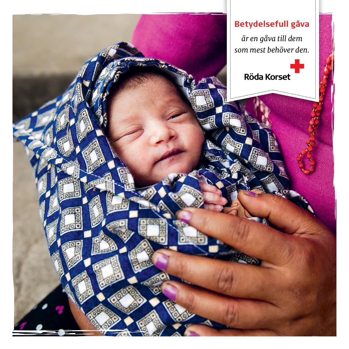 Moderskapsförpackning i mitten av en katastrof, 17 €/st